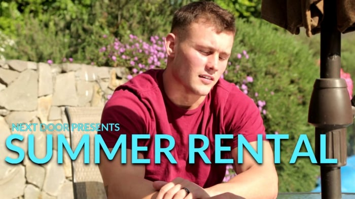 Damien West in 'Summer Rental'
