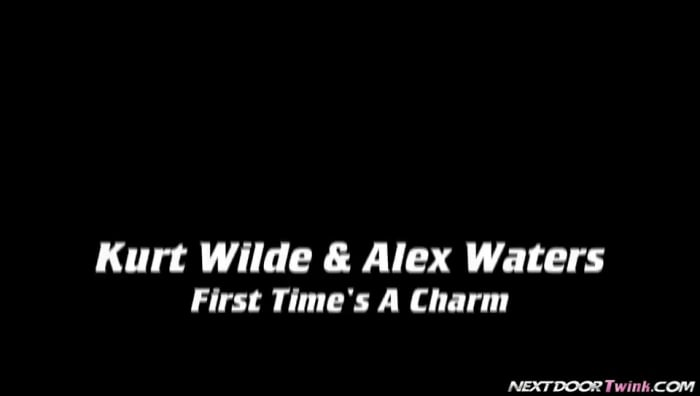 Alex Waters in 'First Time's A Charm'