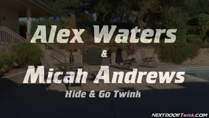 Alex Waters in 'Hide and Go Twink'