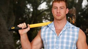 Andy Banks in 'Lumberjacked'