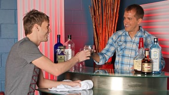 Brandon Lewis in 'Bar Boys'