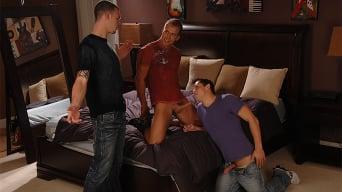 Brandon Lewis in 'THREE FUCKIN' KNUCKLEHEADS'