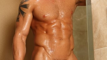 Cody Cummings in 'Secret Shower'