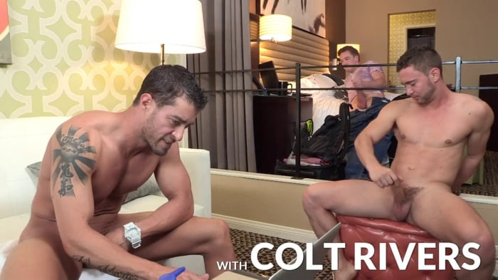 Colt Rivers in 'First Time Facial'