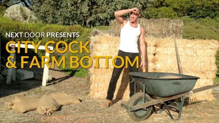 Conner Hastings in 'City Cock and Farm Bottom'