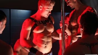Donny Wright in 'The Dungeon Club'