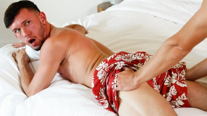 Drake Riley in 'Red Ass Lobster'