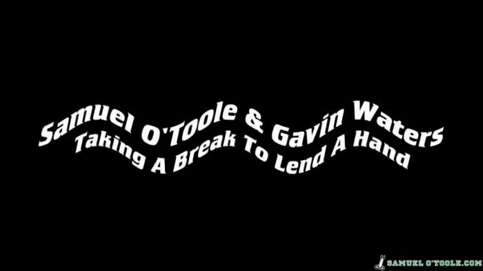 Gavin Waters in 'Taking A Break To Lend A Hand'