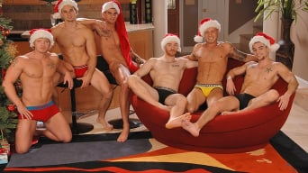 Johnny Torque in 'Christmas Orgy'