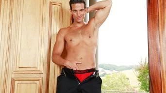 Luke Adams in 'Alarming Hot Fire'