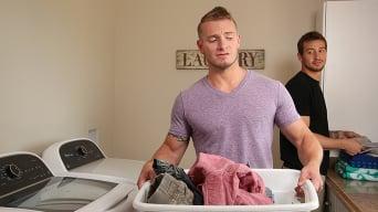 Mark Long in 'Laundry Room Hookup'