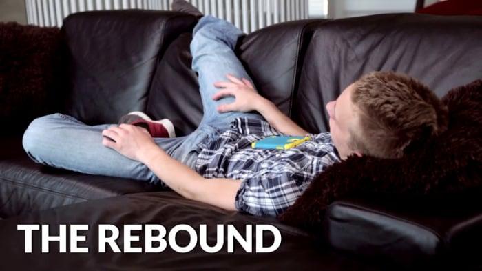 Micky Mackenzie in 'The Rebound'