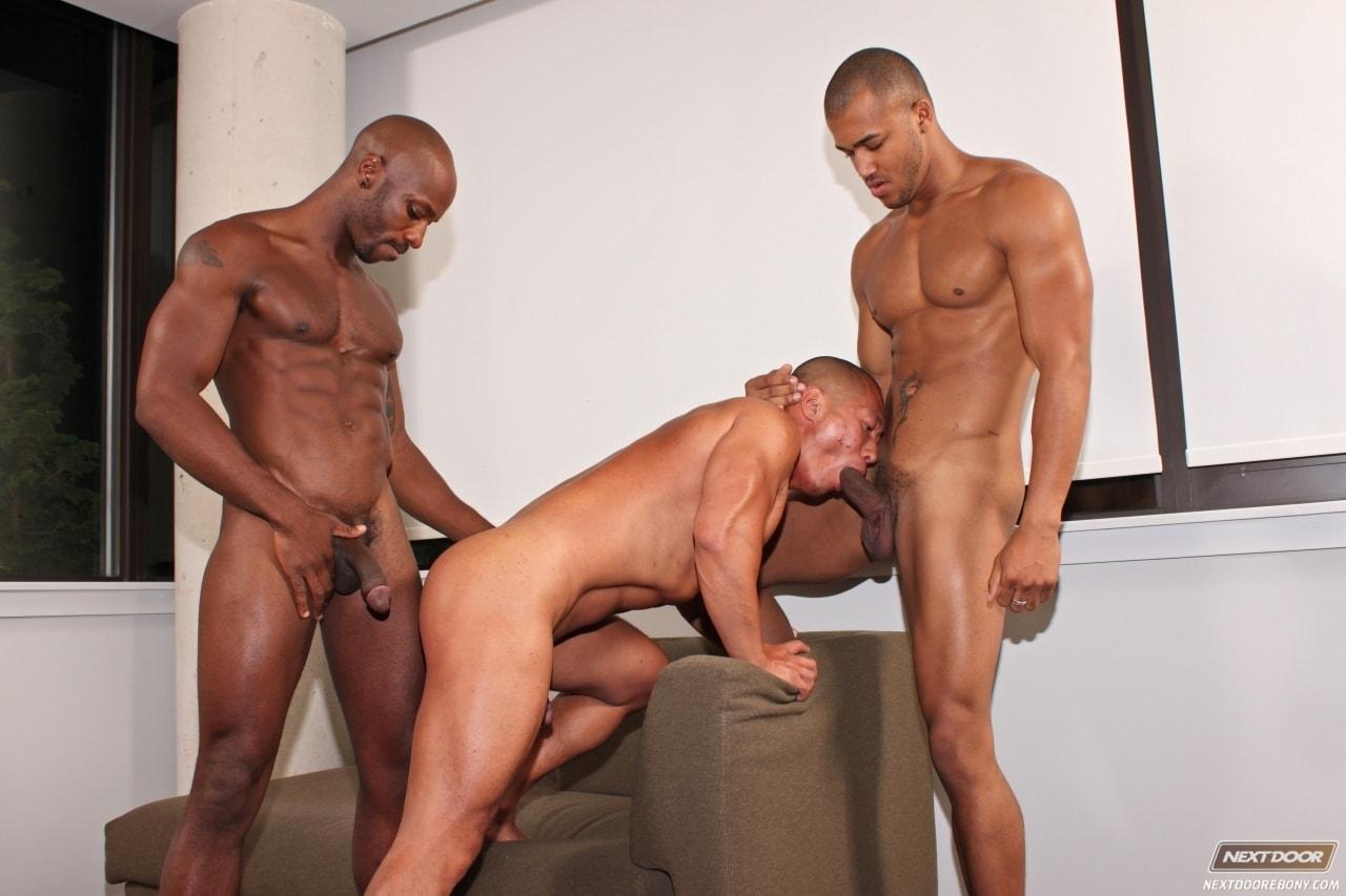 gay sex with a big black man