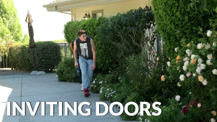 Rob in 'Inviting Doors'