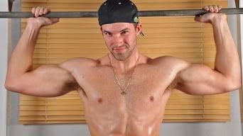 Trystan Bull in 'Gym Tricks'