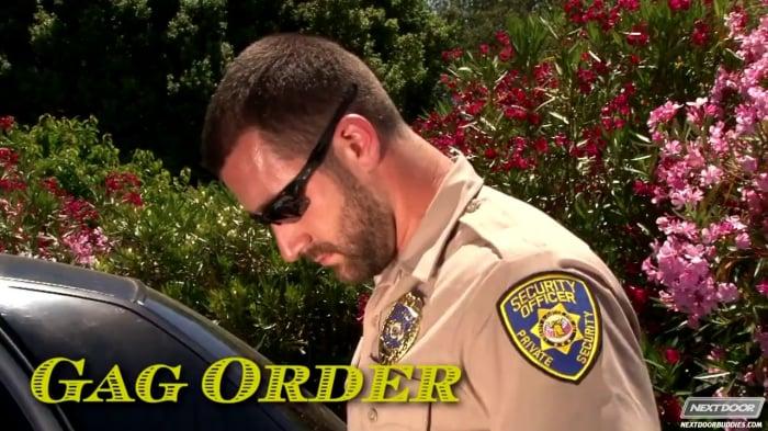 Vinny Castillo in 'Gag Order'