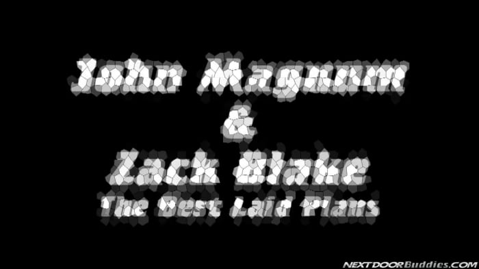 Zack Blake in 'THE BEST LAID PLANS'